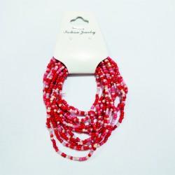 Bracciale - rosso/rosa -...