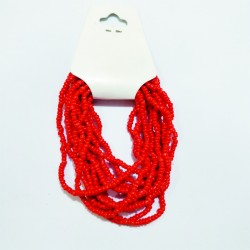 Bracciale - Rosso - circa 6 cm
