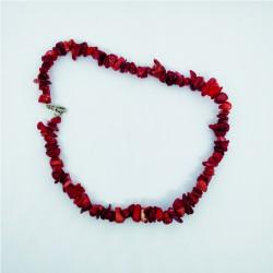 15 Collane in corallo rosso...